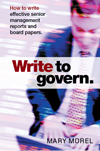 Write to govern by Mary Morel
