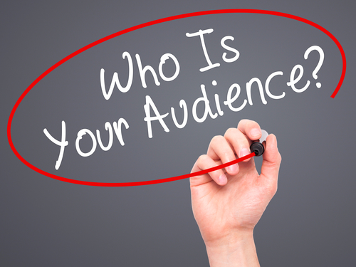 what does audience mean in writing